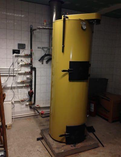 centrala stropuva instalata