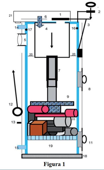 schema tehnica centrala pe lemne Stropuva