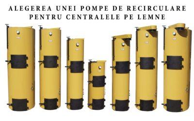 Pompa de recirculare a apei pentru centrala